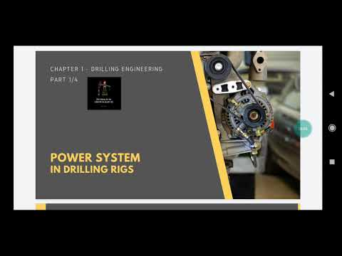 Power System in Drilling rigs