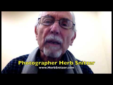 Photographer Herb Snitzer pictures you watching Mr. Media! PROMO