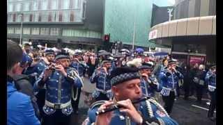 Glasgow Orange Walk, July 2012. Boyne Celebrations.