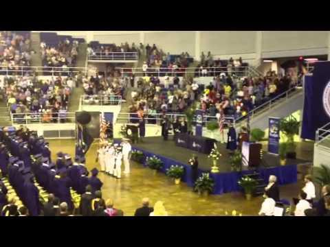 National Anthem 2013 Sowela Graduation sung by Ginger Van Winkle