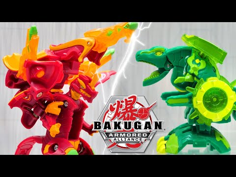 ARMOR UP YOUR BAKUGAN FOR BATTLE! All-new Baku-Gear Unboxing!