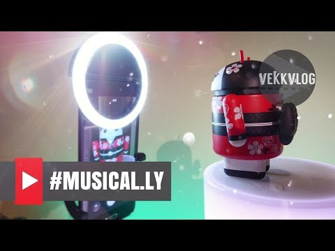 Best Kit for Musically - Starter Pack with Selfie Led Light Ring and Xiaomi Selfie Stick - ITA
