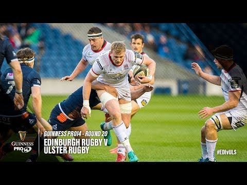 Guinness PRO14 Round 20 Highlights: Edinburgh Rugby v Ulster Rugby