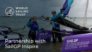 Partnership with SailGP Inspire | World Sailing Trust