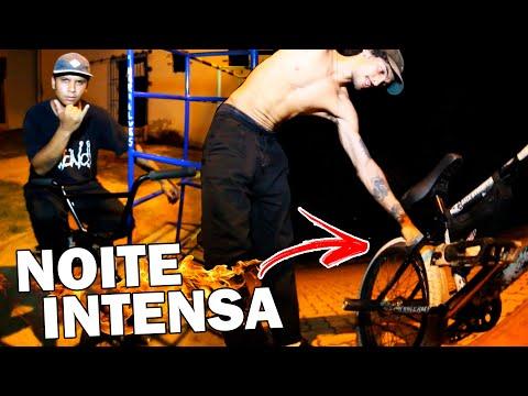 STREET NOTURNO NO INTERIOR (A Bike Não Aguentou) - DIA INTENSO #206