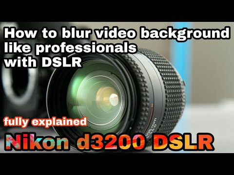 How To Blur Background Like Professionals In Dslr