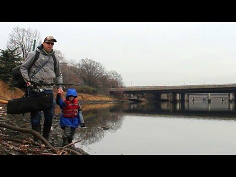 How to catch carp in a river - Carp fishing in winter