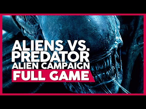 Aliens Vs. Predator (Alien Campaign) | PC 60fps | Full Gameplay/Playthrough | No Commentary