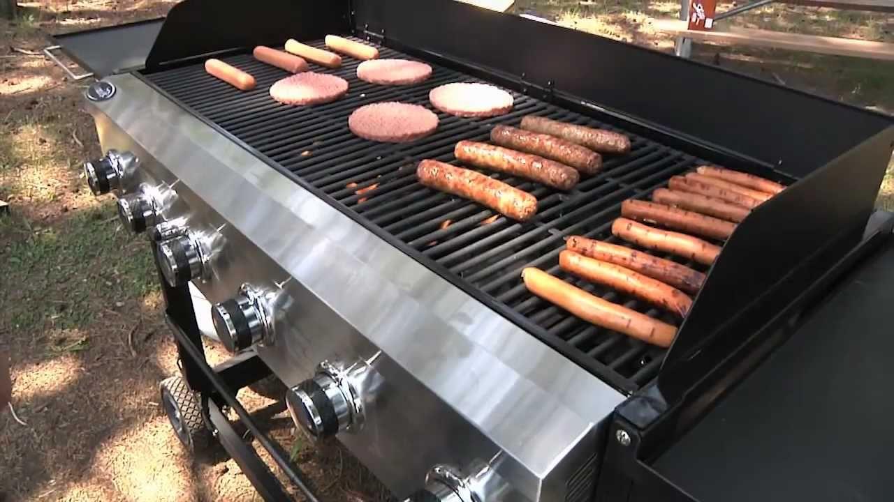 Aussie 6 Burner Event Gas Grill