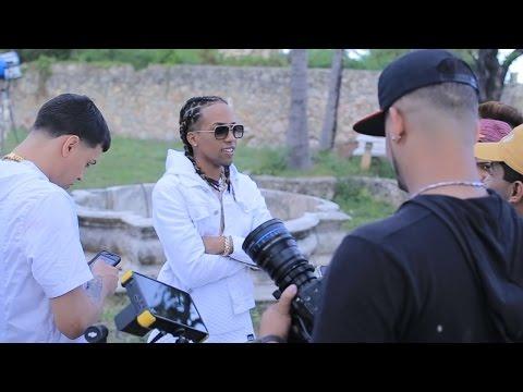 """El Nene """"Amenazzy"""" ft Noriel-  ''AYER'' - DETRAS DE CAMARAS"""