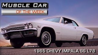 1965 Chevorlet Impala SS 396 425: Muscle Car Of The Week Video Episode 224 V8TV