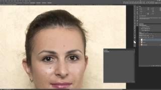 Как убрать блеск с лица в фотошопе  Уроки фотошопа