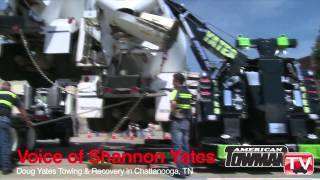 73,600 POUNDS! Rotator's Amazing Side Triple Lift
