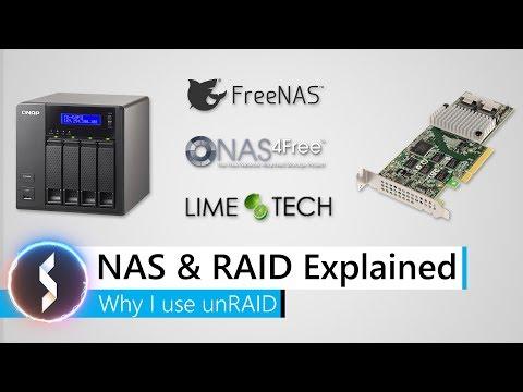 NAS & RAID Explained - Why I use unRAID