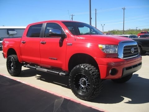 2008 toyota tundra limited trd lifted truck 4 sale youtube. Black Bedroom Furniture Sets. Home Design Ideas