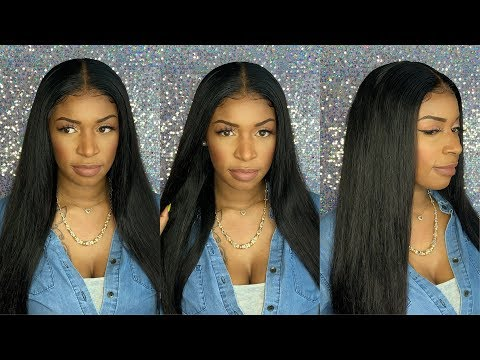 Affordable Human Hair straight Lace Front Wig  Aliexpress wig  Recool Hair