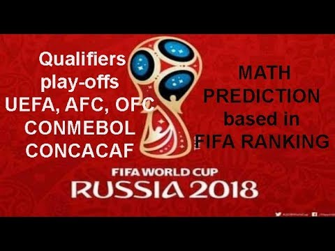 Prediction 100% correct: Winners of the Qualifiers World Cup Russia 2018. Final Matches. Play-offs.