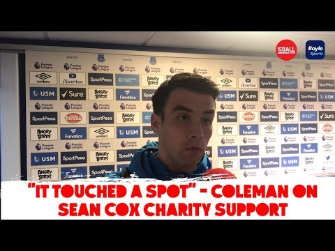 """""""It just touched a spot"""" - Seamus Coleman on Sean Cox charity support"""