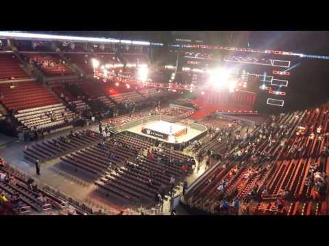 WWE Raw Columbus -  Schottenstein Center Getting Ready
