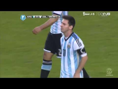 Leo Messi Goal ~ Argentina vs Slovenia 2014