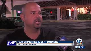 Boynton Beach police say red light camera violations are on the rise