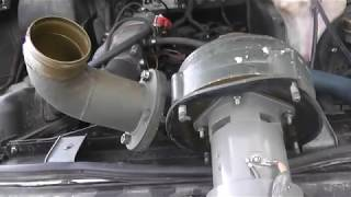 Дешевая турбина для автомобиля на 12 Вольт,Электротурбина на уаз патриот