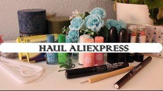 HAUL ALIEXPRESS | Maquillaje, Ropa, Decoración, Accesorios... | Raquel Ballesta ❤