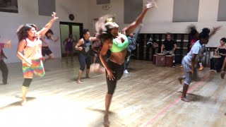 Check out my African Dance Class with King Tae!