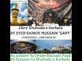 Syed Shakir Hussain Saifi Misbahi Bayan Shuhada e Karbala at Jama Masjid Chandivali Whatsapp Status Video Download Free