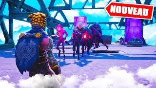 Pass a Zombie Horde! Creative Fortnite