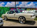 Super Clean 86 Chevy Monte Carlo Luxury sport on Billets in HD (must see)