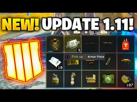 NEW UPDATE 1.11 in BLACK OPS 4!  - BLACKOUT LOOTING SYSTEM CHANGED, CONCUSSION NERF, NEW LTM & MORE