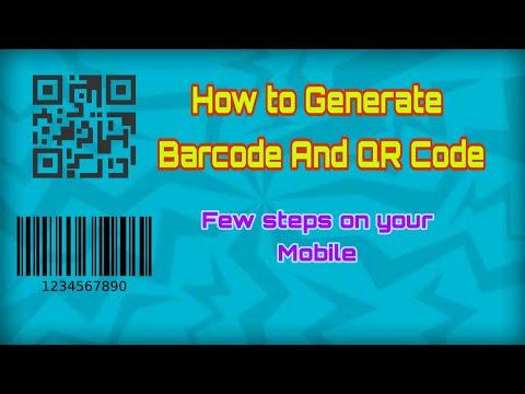 How to Generate QR SCANNER & Barcode🔥🔥 BARCODE & QR CODE তৈরি করুন অল্প সময়ে by Multi YouTube