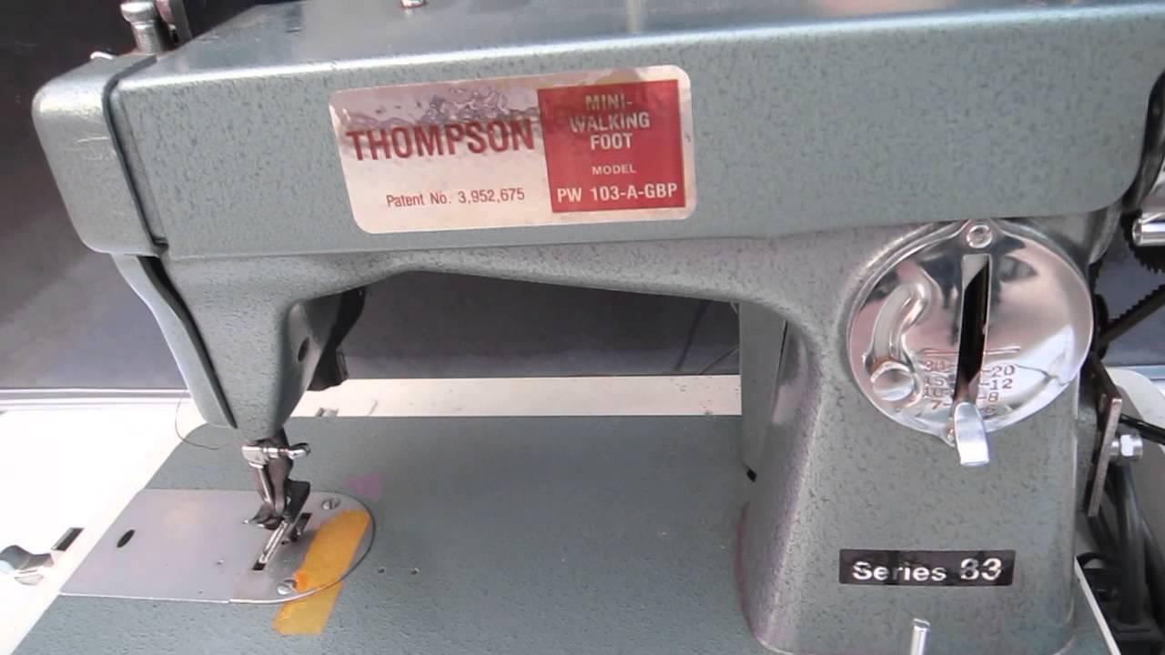 thompson sewing machine