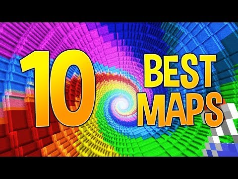 THE 10 BEST MINECRAFT MAPS OF ALL TIME!