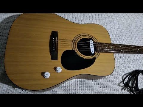 Электроакустическая гитара Cort AD810 + Звукосниматель. Чистый звук и Overdrive - Cort MX15.