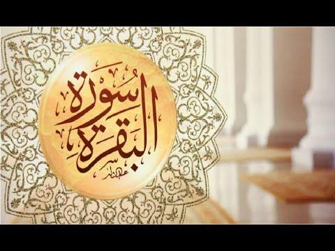 سورة البقرة - سعد الغامدي( بدون إعلانات) - Sourat Al Baqara - Saad Al Ghamidi (sans publicités)