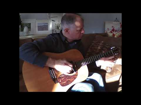mary's boy child (jesus christ) fingerstyle guitar