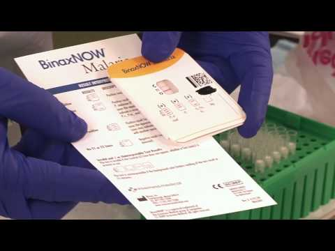 FDA approved first RDT for use in the U.S., BinaxNOW Malaria