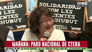 Habla Arcioni, el gobernador de Chubut, tras los incidentes