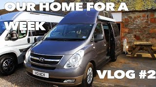 Living in a van! Inverness to Thurso via Wick