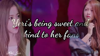 Download Lagu RED VELVET Kim Yeri's kindness and sweetness towards her fans (We love you our Angel Yerimie!)