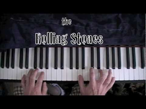 """How to Play """"Angie"""" by The Rolling Stones Piano Tutorial"""