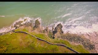 Killiney Hill and coast line, Ireland 4K Aerials