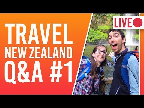 New Zealand Travel Q&A - Working In New Zealand + Hiking & Camping Gear + Best NZ Glacier Tours