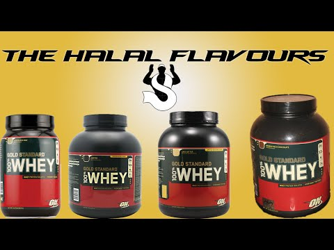 Is Optimum Nutrition 100% Whey Halal?