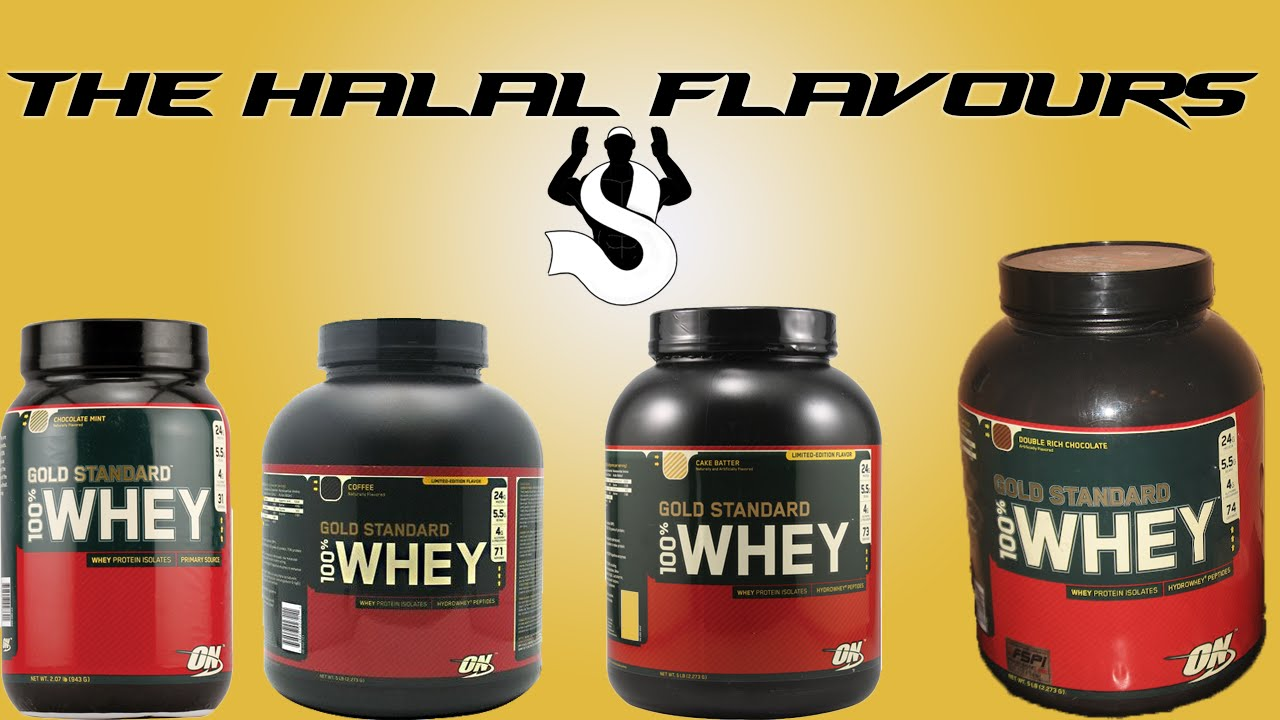1a9d481ce5 Is Optimum Nutrition 100% Whey Halal? - YouTube