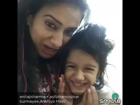 Surmayee ankhiyon mein... Asif phansopkar + Anitaji Sharma