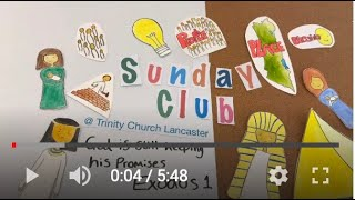 Sunday Club Live | 19th April 2020 | Exodus 1:1-22