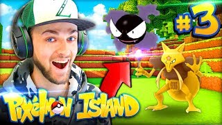 AN EPIC HUNT BEGINS (+ DIAMONDS)! - Pixelmon Island #3 w/ Ali-A